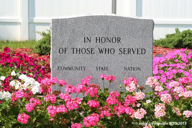 Rathbone Memorial Park Stone