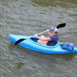 Kayaker Hannah