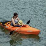 Kayaker Lydia